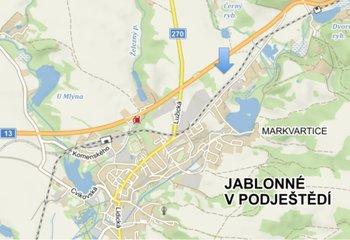 Industriální pozemky Jablonné V Podještědí