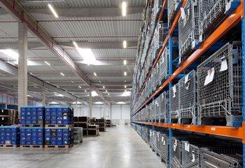 Logistické služby v průmyslové zóně Ústí nad Labem.