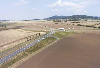 Industriální pozemek Krušovice