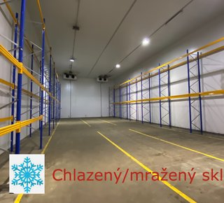 Refrigerated and frozen warehouses for rent in Prague 9 - Horní Počernice