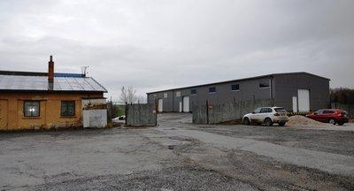 Pronájem - skladovací areál, obec Hůry, České Budějovice