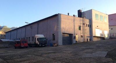 Pronájem, skladovací a výrobní prostory - 1360 m2 - Česká Kamenice, okr. Děčín