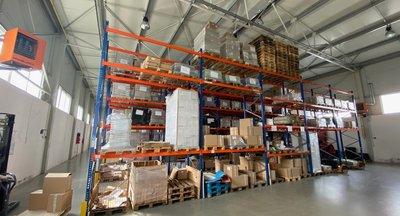 Pronájem: skladovací a výrobní prostory 1021m2, Brno