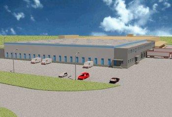 Skladový areál Otovice - nová výstavba