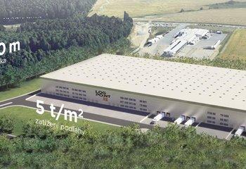 Jihlava - skladovací a výrobní prostory