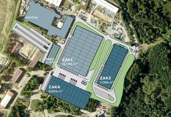 Zu vermieten: moderne Lager- und Produktionsflächen - Česká Lípa