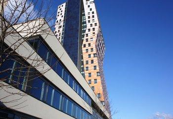Kanceláře v nejvyšší budově ČR