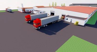 Pronájem: výrobní a skladovací prostory (sklady, haly), Solany, okr. Litoměřice