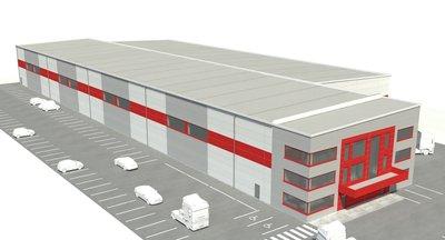 Pronájem víceúčelové průmyslové haly, 4.000 m2 - Dolní Rychnov