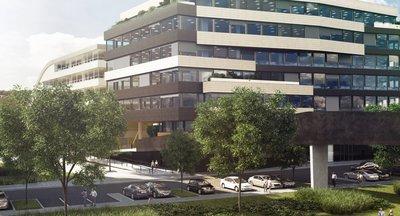 Luxuxsní kancelářské prostory DOCK IN 03, Praha 8