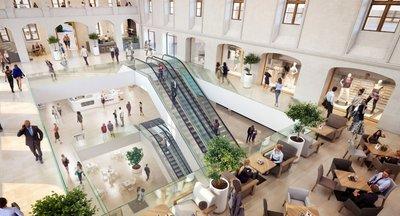 Pronájem, Kanceláře - SAVARIN, od 500 m² - Praha - Nové Město