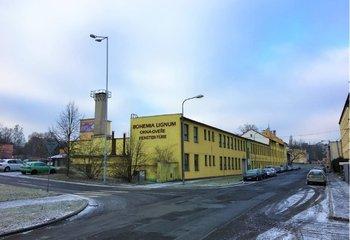 Räumlichkeiten zur Miete in einem Industriegebiet, Cheb