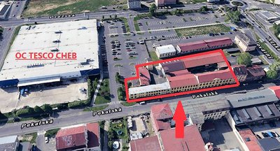 Industrial premises for rent, Cheb