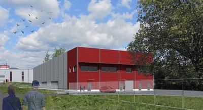 Pronájem, Skladové/ výrobní prostory, 3 076 m² - Ostrov