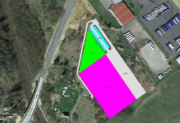 Sale, Land For a commercial building, 21667m² - Cheb