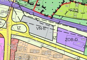Sale of exclusive commercial land in Prague - Hloubětín