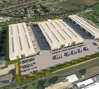 VGP Park Prostějov - Anmietung moderner Lager- / Produktionsflächen
