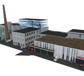 Lease - storage and production premises, 1400 m2, Prostějov