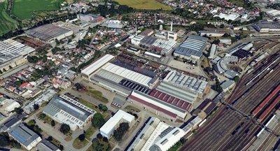 Prodej skladového areálu Hradec Králové, Pražská tř.