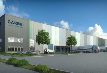 Garbe Park Chomutov - Pronájem moderních skladových prostor - 32.000 m2