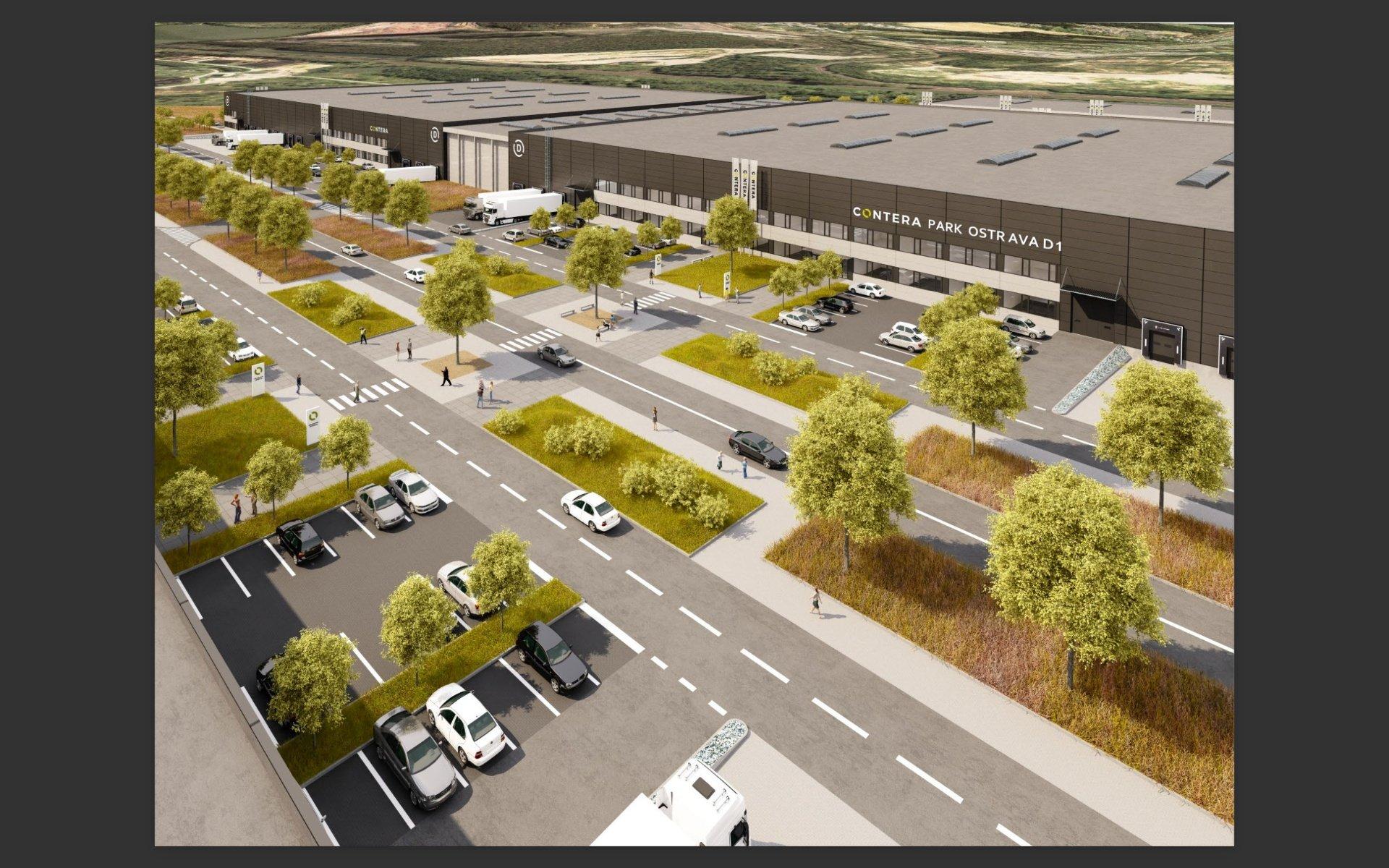 Contera Park Ostrava D1 - Anmietung moderner Lager- und Produktionsflächen