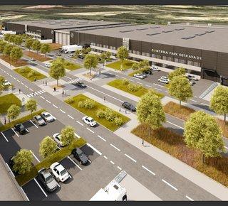 Contera Park Ostrava D1 - Pronájem moderních skladových a výrobní prostor