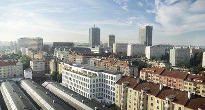 Nový Obchodní prostor k pronájmu - 5.května - Praha 4 Pankrác