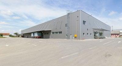 Pronájem moderních skladových prostor  ca 1200 m2 - výstavba na míru