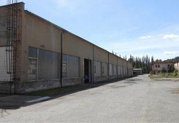 Pronájem: Skladovací a výrobní prostory v obci Brněnec, Svitavy