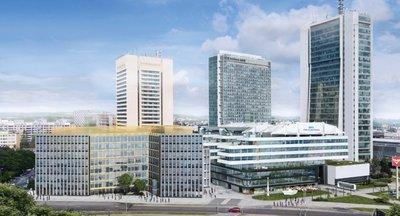 Pronájem nových kanceláří od 495 m2 do 4306m2 - Praha 4