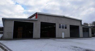 Pronájem nové skladové haly, až 3.500 m2 - Čerčany (Benešov)