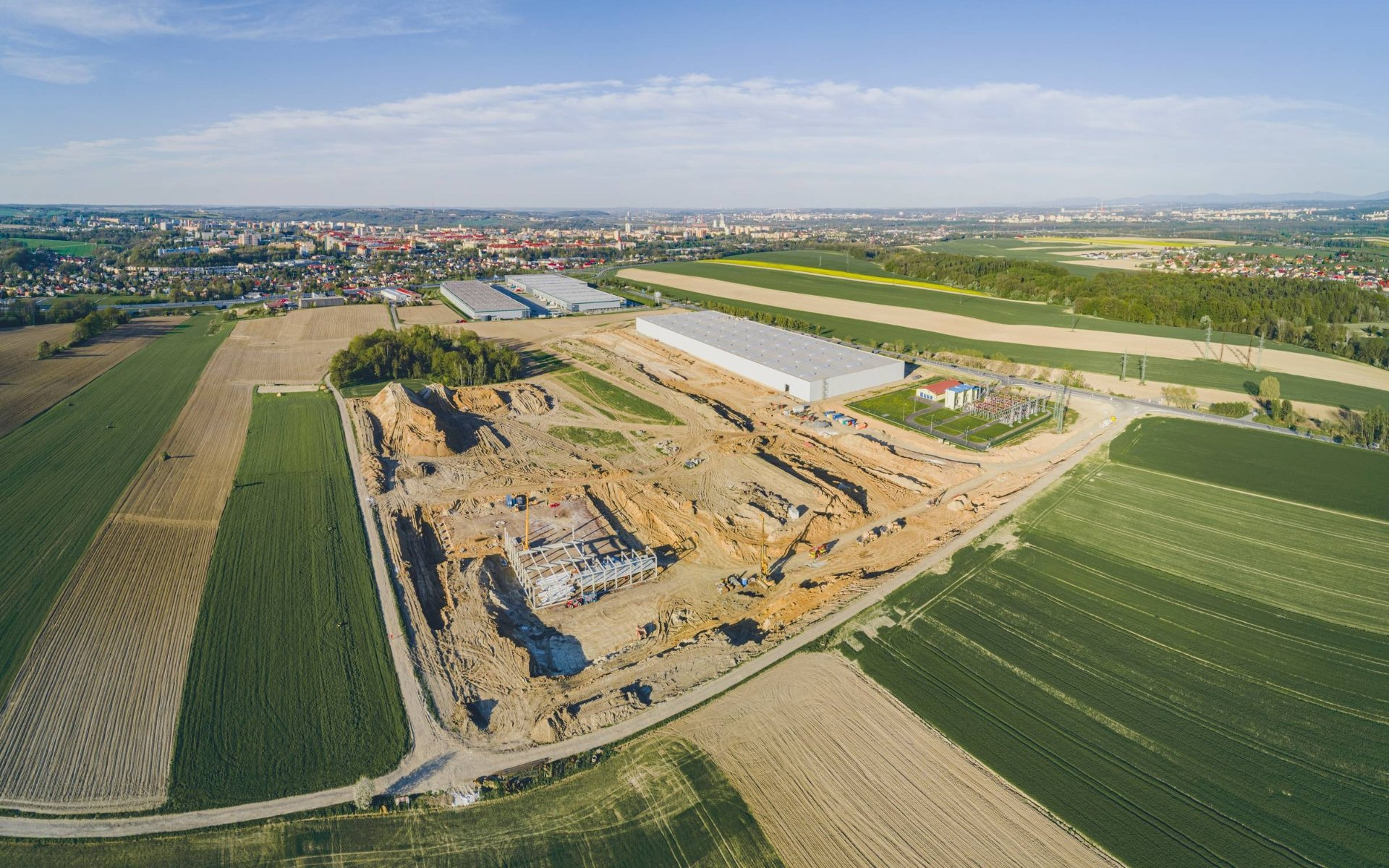 CTP Park Ostrava Poruba - Lease of modern warehouse and production space