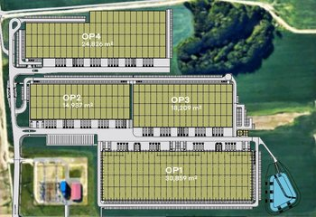 Lease of modern warehouse and production space, Ostrava - Poruba up to 90,000m2