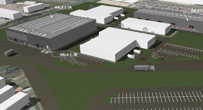Moderní skladové haly formou výstavby na míru, až 11.000 m2 - Pardubice