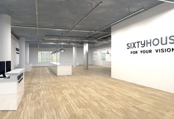 Commercial space for rent 335 m2 - directly on the Prague Uprising metro