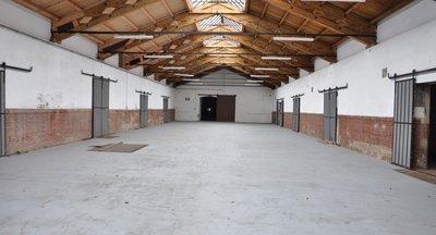 Pronájem: Skladové prostory s přístupem na železnici - Teplice