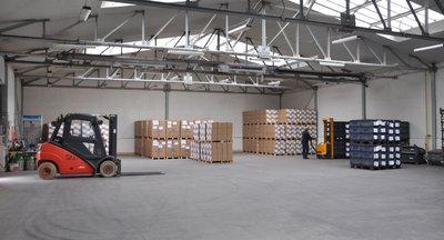 Logistické služby - Česká Lípa - až 1200 ks palet