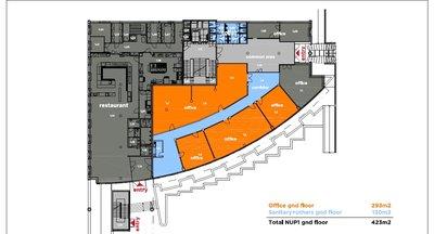 obchodní prostory přímo u D1 k pronájmu - Praha východ - 385 m2