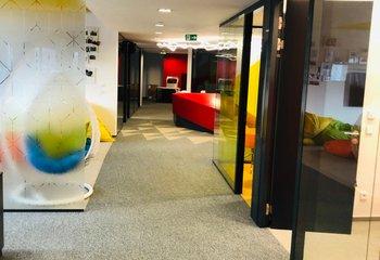 Vybavené kanceláře 584m2, BB Centrum - budova Alpha – Praha 4