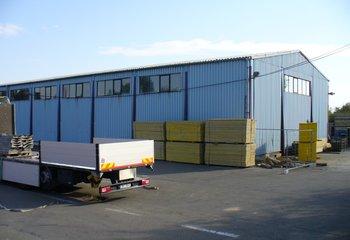 Pronájem - skladovací a výrobní prostory (sklady, haly), Lobodice, okres Přerov
