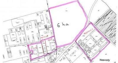 Predaj/prenájom:komerčný pozemok,priemyselný park Nesvady,Komárno