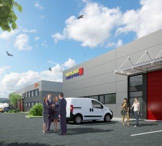 Ponúkame na prenájom moderný sklad 750 m2 -1500 m2 v Trenčíne