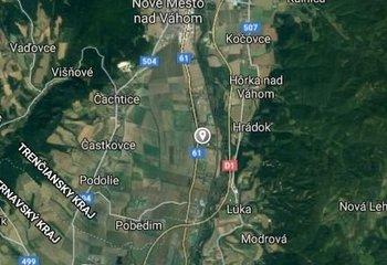 Na predaj pozemky Nové Mesto nad Váhom