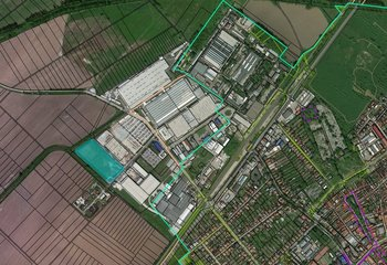 Pozemok na predaj vhodný na výstavbu v priemyselnej zóne- Skalica