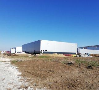 Výrobné / skladové haly - výstavba na mieru v Nitre, v tesnej blízkosti Jaguar Land Rover