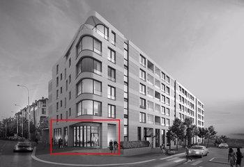 Exclusivní obchodní jednotka k pronájmu - Italská ulice - 528 m2