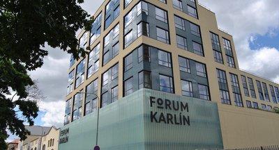 Forum Karlín, Pernerova, Praha 8 - Karlín