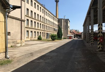 Lease of warehouse and production areas - Hořice