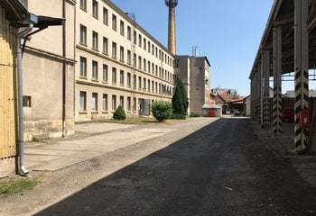 Vermietung von Lager- und Produktionsflächen - Hořice