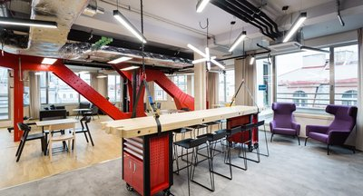 Inspirativní kancelářské prostory k pronájmu - Praha 1